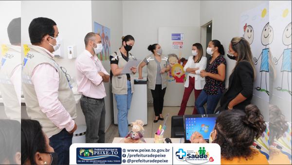 Ministério Público inspeciona armazenagem e recebimento de vacinas contra a Covid – 19 em Peixe e não encontra irregularidades.
